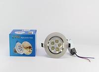 Светодиодные лампы | Лампочки LED | Врезная круглая точечная Лед лампа 5W 1402