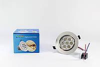 Светодиодные лампы | Лампочки LED | Врезная круглая точечная Лед лампа 7W 1403