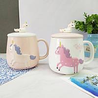 Кружки | Чашки | Оригинальные чашки и кружки | Керамическая чашка Unicorn Design (выбор цвета)