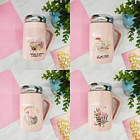 Кружки | Чашки | Оригинальные чашки и кружки | Термо-кружка керамическая Flamingo (выбор дизайна)