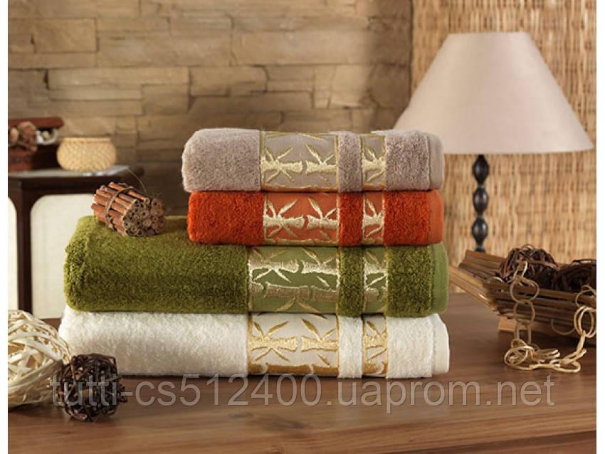 Полотенце бамбуковое махровое Arya Бамбук 50Х90 Elanor - Постельное белье в интернет-магазине Tutti-Home Украина Киев в Киеве