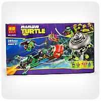 Конструктор Ninja Turtles «Воздушная атака корабля T-Rawket»