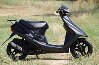 Скутер Honda Dio 27 (чёрный резвый), фото 1