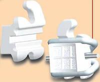 "Брекети пластикові Logic Line (Лоджік Лайн)/Leone (Леоне), комплект на верхню щелепу 10 шт, 022 паз ""F5410-89"
