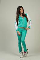 Спорт костюм женский Adidas на змейке