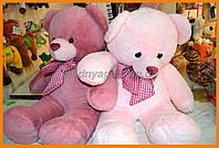 Плюшевый мишка 60 см розовый | Мягкие красивые мишки