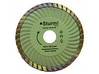 Алмазный диск Sturm ТурбоWave d=115 мм 9020-04-115x22-TW