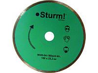 Алмазный диск непрерыв. Sturm d=115 мм 9020-04-115x22-WC