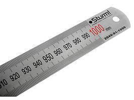 Линейка металлическая Sturm, 1000 mm 2040-01-1000