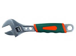 Разводной ключ Sturm 200 мм, мягкая ручка 1045-02-A200