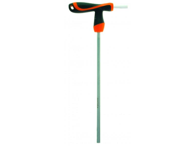 Ключ шестигранный с шаром  Т-образная рукоятка 10*200 1045-06-10x200