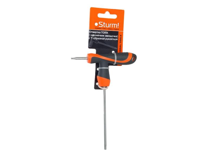 Ключ TORX  Т-образная рукоятка T40 7*150 1045-08-T40-7x150