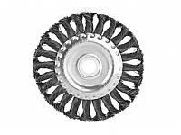 Щетка для УШМ 150мм радиал.стальн.витая пров. Sturm 9017-03-WB180
