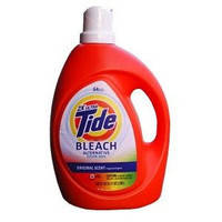Гель для стирки Tide Bleach 2X Ultra 2.95 л 64 стирки