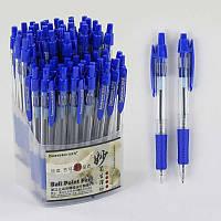 Набор шариковых ручек С 37076  синяя паста /ЦЕНА ЗА УПАКОВКУ 60ШТ/ диаметр пишущего узла 0,7мм