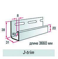 """Планка J-trim (3,66м)  ТМ """"FLEX"""""""
