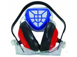 Набор средств защиты (очки, наушники, респиратор) Sturm 8050-03-3S