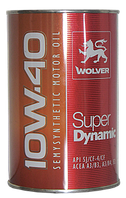 Масло моторное Wolver Super Dynamic 10w40, 1л