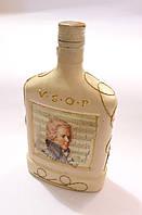 Бутылка Моцарт стиль декупаж ручная работа handmade