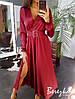Шелковое платье миди , шелк-армани. Размер:S, М. Разные цвета. (1150), фото 6