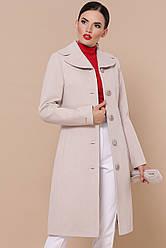 Жіноче пальто до колін на осінь
