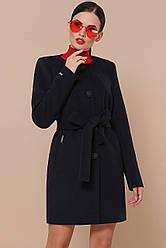 Короткий жіноче пальто з поясом