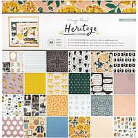 Набір одностороннього паперу - Heritage - Maggie Holmes - Crate Paper - 30х30, фото 1