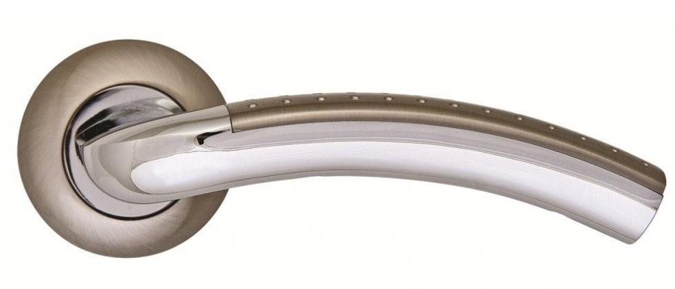 Дверні ручки SIBA Bari нікель/хром