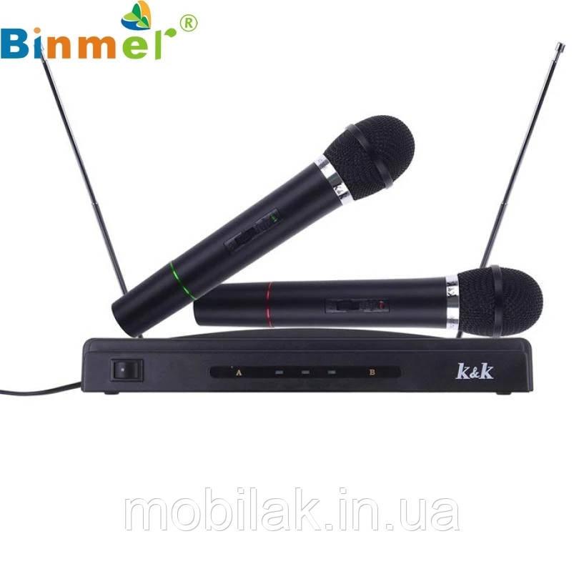 Беспроводная двойная микрофонная система Binmer