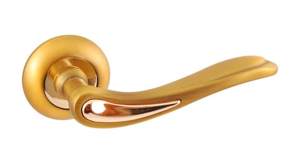 Дверні ручки SIBA Modena матове золото/золото