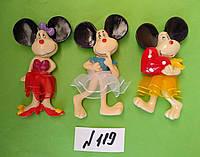 Магниты на холодильник керамика год крысы  Символ 2020  9*5 см микс