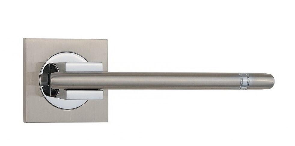 Дверні ручки SIBA Kristal матовий нікель/хром