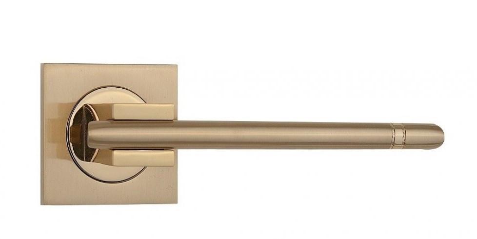 Дверні ручки SIBA Kristal R03 матове золото, золото
