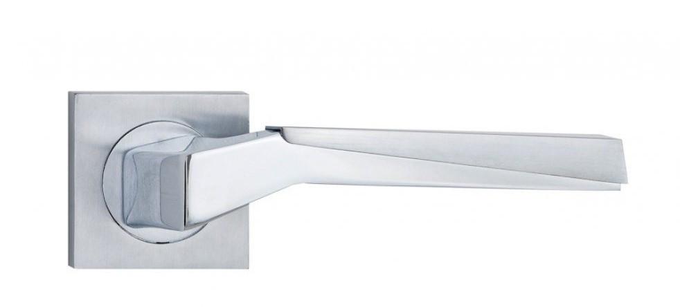 Дверні ручки SIBA Enna R03 матовий хром/хром