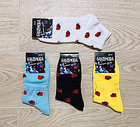 Носки женские демисезонные хлопок Calze Moda Турция размер 36-41