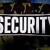 Шеврон security на спину