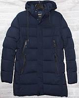 """Куртка мужская зимняя удлиненная на холлофайбере, размеры 48-56 """"GEEN"""" купить недорого от прямого поставщика"""