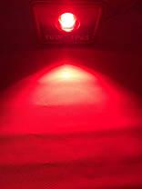 Светодиодный линзованый прожектор SL-50Lens 50W красный IP65 Код.59152, фото 2