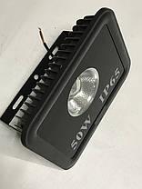 Светодиодный линзованый прожектор SL-50Lens 50W синий IP65 Код.59053, фото 2