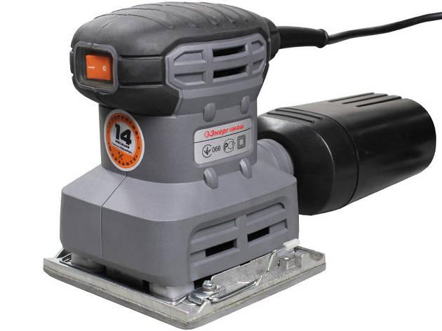 Вибрационная шлифовальная машинка Энергомаш ПШМ-8030С, фото 2