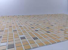 """Панели ПВХ Мозаика """"Микс коричневый"""", фото 2"""