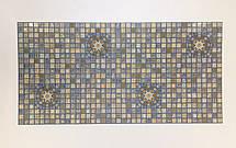 """Панели ПВХ Мозаика """"Медальон синий"""", фото 2"""