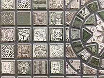 """Панели ПВХ Мозаика """"Медальон олива"""", фото 3"""