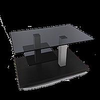 Стол журнальный стеклянный Plato mini lux GG V (800*500*455)
