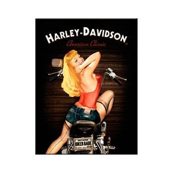 Магнит Nostalgic-Art Harley-Davidson Biker Babe (14333)
