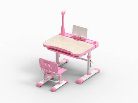 Детская парта со стульчиком FunDesk Bellissima Pink, фото 2