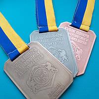 Медалі на замовлення з гальванічним покриттям UPC