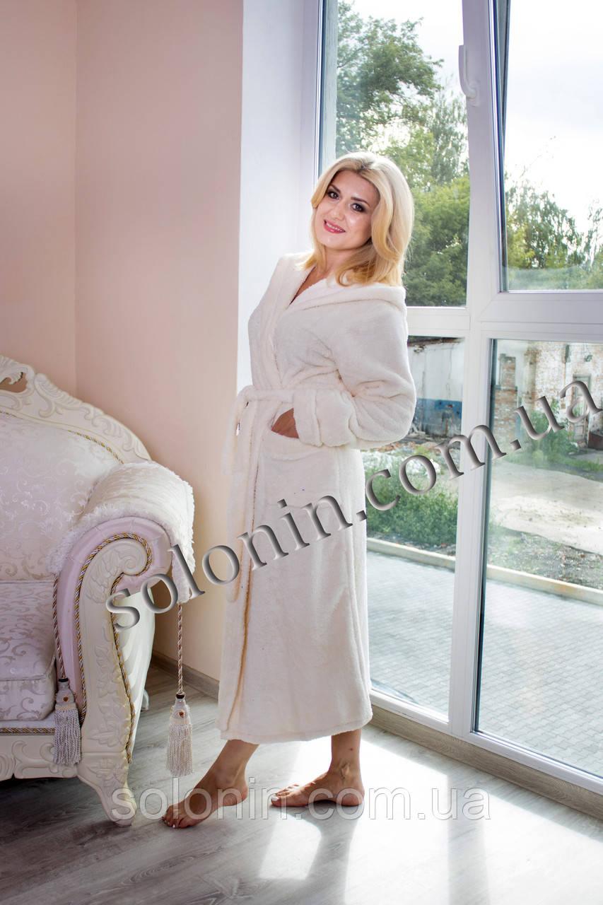 Халат довгий жіночий.