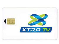 Xtra TV — карта доступа