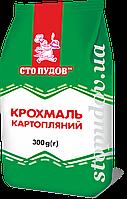 """Крахмал картофельный ТМ """"Сто пудов"""" 300г"""
